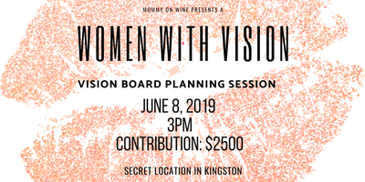 Women With a Vision - Vision Board Planning Session