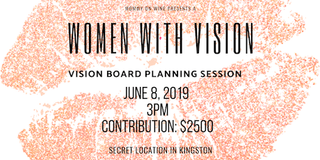 Women With a Vision - Vision Board Planning Session tickets