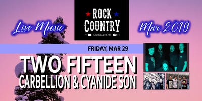 Two Fifteen wsg Carbellion and Cyanide Son at Rock Country!