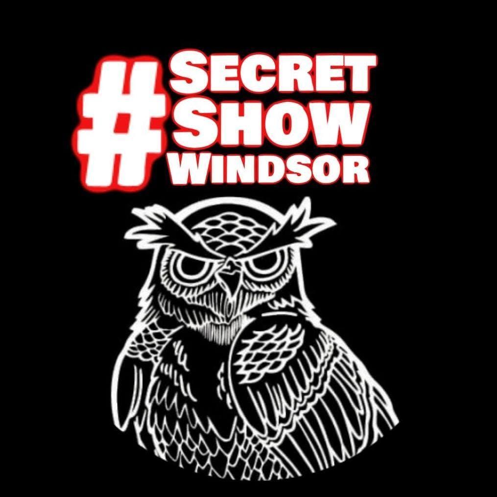 SecretShowWindsor (comedy at Blind owl march