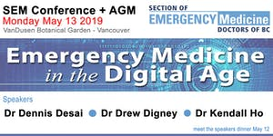 SEM Conference + AGM - MAY 13 2019 - EM in the Digital...