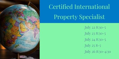CIPS Certified International Property Specialist Certification