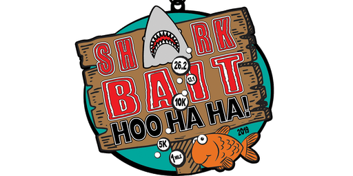 Shark Bait Hoo Ha Ha 1 Mile, 5K, 10K, 13.1, 26.2-Green Bay