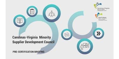 CVMSDC 2019 Pre Certification Briefings - Richmond