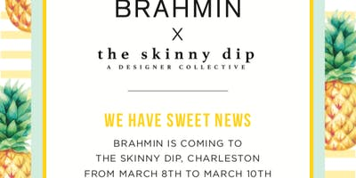 Brahmin x The Skinny Dip Trunk Show