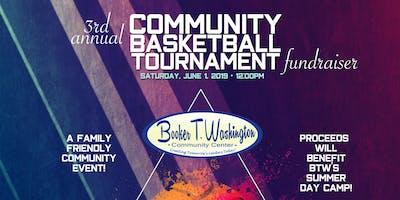 BTW 3 on 3 Basketball Tournament Fundraiser