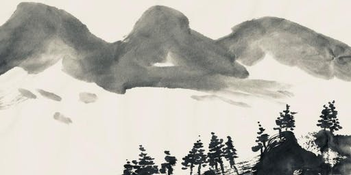 Japanese ink & watercolour painting 4-day course - Ink Landscape - Mixed Level