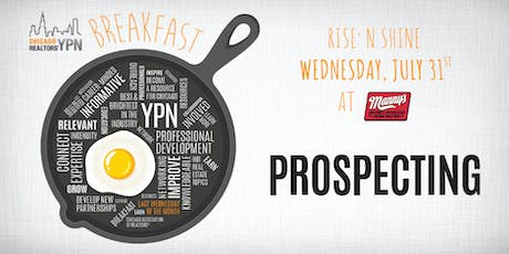 YPN Monthly Breakfast – Prospecting tickets