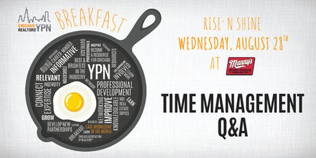 YPN Monthly Breakfast – Time Management Q&A tickets