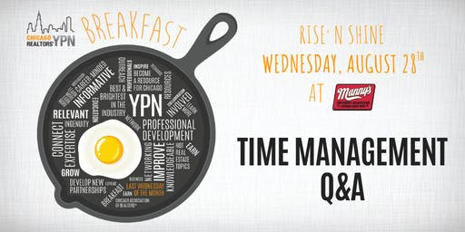 YPN Monthly Breakfast – Time Management Q&A