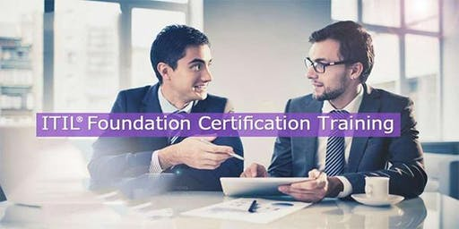 ITIL Foundation Certification Training in Anza, CA