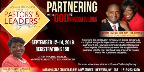 Pastors' and Leaders' Conference tickets