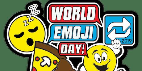 World Emoji Day 1 Mile, 5K, 10K, 13.1, 26.2- Flint tickets