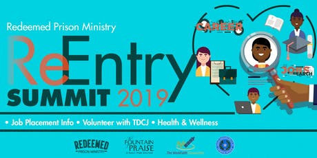 Redeemed Prison Ministry ReEntry Summit 2019 tickets