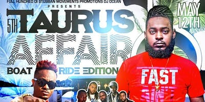 Dj Ocean's 5th Annual Taurus Affair Boat Ride Edition