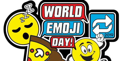 World Emoji Day 1 Mile, 5K, 10K, 13.1, 26.2- Independence