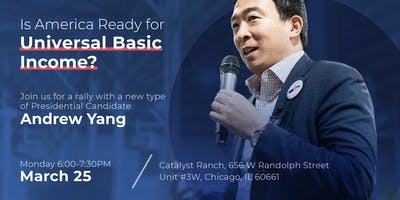 Andrew Yang Back in Chicago!