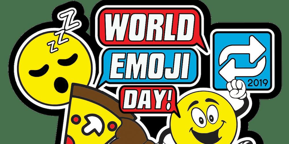 World Emoji Day 1 Mile, 5K, 10K, 13 1, 26 2- Cincinnati Tickets, Wed