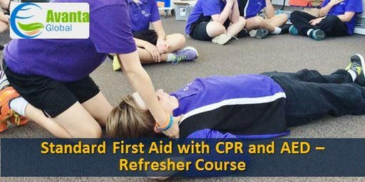 Standard First Aid with CPR and AED - Refresher Course