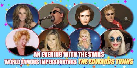 An Evening with Cher, Frankie Valli, Bette Midler & Streisand VEGAS The Edwards Twins tickets