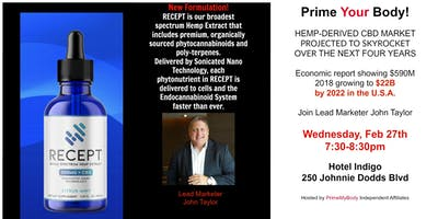 Hemp Deregulation-  Come learn more to help you physically and financially