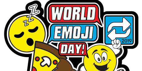 World Emoji Day 1 Mile, 5K, 10K, 13.1, 26.2- Provo tickets