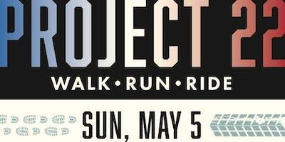 Project 22 Walk/Run/Ride to Raise Awareness for Veteran *******