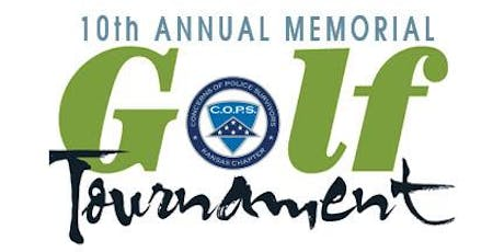 Kansas Concerns of Police Survivors 10th Annual Memorial Golf Tournament  tickets
