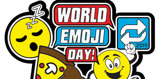 World Emoji Day 1 Mile, 5K, 10K, 13.1, 26.2- San Jose