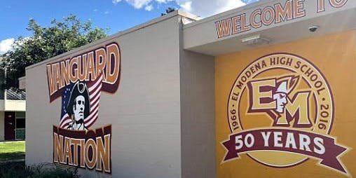 El Modena HS 50ish Reunion Weekend, Classes '68,'69,'70  Sept. 6-8, 2019