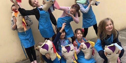 Craft'd Bus Workshops: Sew a Unicorn Plushie!