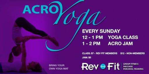 Acro Yoga Instructional Class