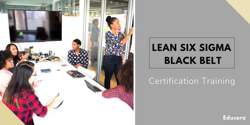 Lean Six Sigma Black Belt (LSSBB) Certification Training in Charlottesville, VA