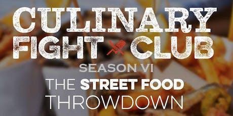 Culinary Fight Club - PORTLAND: Street Food Showdown tickets