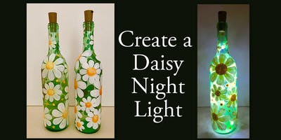Create and Paint a Daisy Night Light