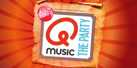 Qmusic the Party - 4uur FOUT! in Velsen-Zuid (Noord-Holland) 9-11-2019 tickets