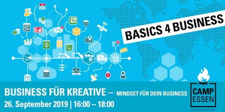 Basics 4 Business: Business für Kreative - Mindset für dein Business Tickets
