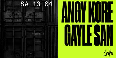 AnGy KoRe & Gayle San im Loft