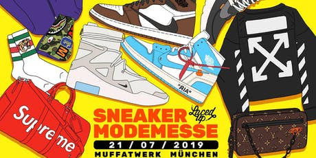Laced Up Sneaker & Fashionmesse München 2019 tickets