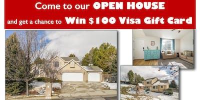 Mega Open House - Win $100 Visa Gift Card!
