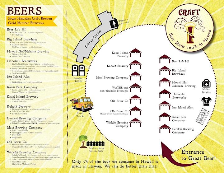 CRAFT, A Hawaii Craft Beer Festival image