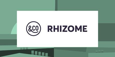 DiscoveRhizome - juil 2019 billets
