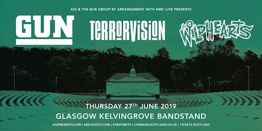 Gun + The Wildhearts + Terrorvision (Kelvingrove Bandstand, Glasgow)