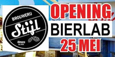 Opening Brouwerij Stijl Bierlab