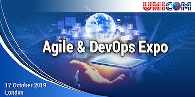 Agile & DevOps Expo in London, 17th October 2019.