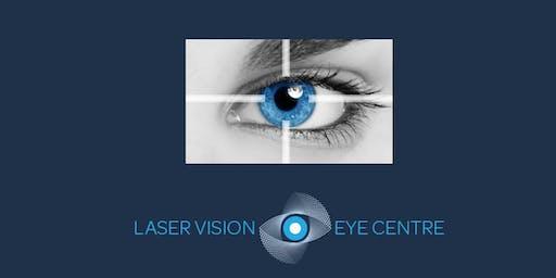 FREE Laser Eye Surgery Event, Jersey - 21st June 2019