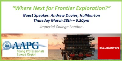 Core Skills For Geoscientists Lecture 1 - Where Next for Frontier Exploration?