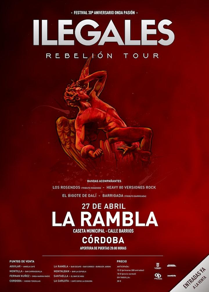 "Imagen de Festival Ilegales - ""Rebelión Tour"""