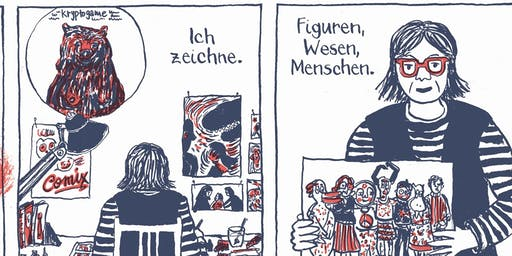 Graphic Novels: Sprechende Bilder, 2-tägiger Workshop mit Birgit Weyhe