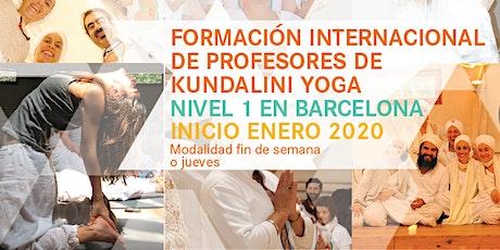 Formación Internacional de Profesores de Kundalini Yoga 2020-Fin de Semana entradas